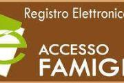 Ritiro password Registro elettronico Classi prime