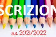 Indicazioni per iscrizioni A.S. 2021/2022