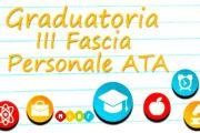 Graduatorie definitive III Fascia ATA