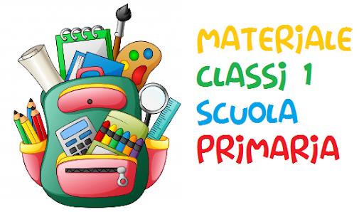 Materiali classe 1° scuola primaria